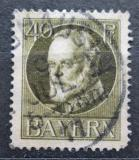 Poštovní známka Bavorsko 1916 Král Ludvík III. Mi# 100 II A