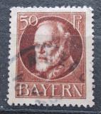 Poštovní známka Bavorsko 1916 Král Ludvík III. Mi# 101 II A
