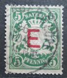 Poštovní známka Bavorsko 1908 Státní znak, služební Mi# 2