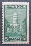 Poštovní známka Francouzské Maroko 1939 Mešita Salé Mi# 142