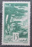 Poštovní známka Francouzské Maroko 1939 Cedary Mi# 144