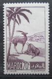Poštovní známka Francouzské Maroko 1939 Gazely Mi# 153