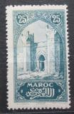 Poštovní známka Francouzské Maroko 1917 Městská brána Chella Mi# 28
