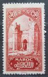 Poštovní známka Francouzské Maroko 1917 Městská brána Chella Mi# 29