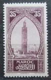 Poštovní známka Francouzské Maroko 1917 Minaret mešity Kutubia Mi# 30
