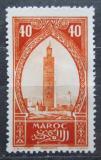 Poštovní známka Francouzské Maroko 1923 Minaret mešity Kutubia Mi# 62