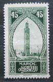 Poštovní známka Francouzské Maroko 1923 Minaret mešity Kutubia Mi# 63