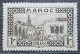 Poštovní známka Francouzské Maroko 1933 Sultánův palác v Tangeru Mi# 93
