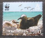 Poštovní známka Pitcairnovy ostrovy 2007 Nody obecný, WWF Mi# 719