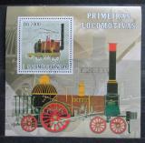 Poštovní známka Svatý Tomáš 2007 Lokomotiva Puffing Billy Mi# 3057 Block