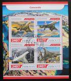 Poštovní známky Džibutsko 2017 Concorde Mi# 1618-21 Kat 10€