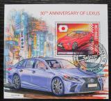 Poštovní známka Sierra Leone 2019 Automobily Lexus Mi# N/N