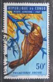 Poštovní známka Kongo 1967 Snovač pospolitý Mi# 116