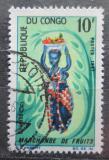 Poštovní známka Kongo 1967 Tradiční kroj Mi# 129