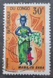 Poštovní známka Kongo 1967 Tradiční kroj Mi# 131