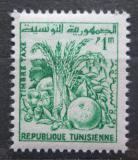 Poštovní známka Tunisko 1960 Zemědělské produkty, doplatní Mi# 75