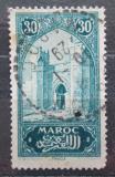Poštovní známka Francouzské Maroko 1927 Městská brána Mi# 60