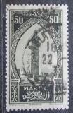 Poštovní známka Francouzské Maroko 1927 Věž v Marakéši Mi# 65