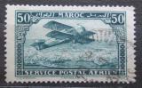 Poštovní známka Francouzské Maroko 1922 Letadlo Mi# 40