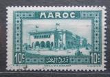 Poštovní známka Francouzské Maroko 1933 Hlavní pošta, Casablanca Mi# 97