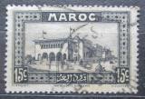 Poštovní známka Francouzské Maroko 1933 Hlavní pošta, Casablanca Mi# 98