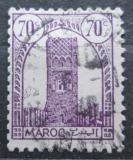 Poštovní známka Francouzské Maroko 1943 Hassanova věž v Rabatu Mi# 193