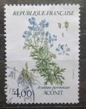 Poštovní známka Francie 1983 Aconitum pyrenaicum Mi# 2395