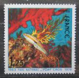 Poštovní známka Francie 1978 Kněžík duhový Mi# 2094