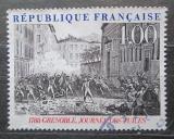 Poštovní známka Francie 1988 Povstání v Grenoble Mi# 2675