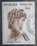 Poštovní známka Francie 1982 Socha, Ephebe Agde Mi# 2332