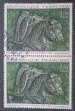 Poštovní známky Francie 1966 Umění pár Mi# 1541