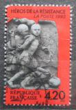 Poštovní známka Francie 1993 Socha Terracotta, Georges Jeanclos Mi# 2960