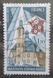Poštovní známka Francie 1977 Katolická škola, 100. výročí Mi# 2029