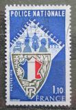 Poštovní známka Francie 1976 Národní policie Mi# 1995