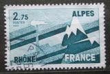Poštovní známka Francie 1977 Region Rhône-Alpes Mi# 2008