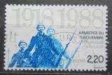 Poštovní známka Francie 1988 Konec První světové války, 70. výročí Mi# 2685