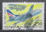 Poštovní známka Francie 1992 Boeing 737 Mi# 2925