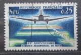 Poštovní známka Francie 1964 Poštovní letadlo Mi# 1471