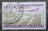 Poštovní známka Francie 1974 Letiště Charles-de-Gaulle Mi# 1866
