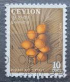 Poštovní známka Cejlon 1954 Kokosové ořechy Mi# 281