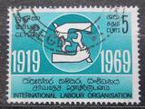 Poštovní známka Cejlon, Srí Lanka 1969 ILO, 50. výročí Mi# 385