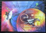 Poštovní známka Burundi 2012 Voyager 2, 35. výročí Mi# Block 320 Kat 9€