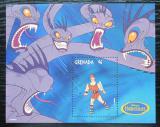 Poštovní známka Grenada 1998 Disney, Herkules Mi# Block 490