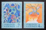 Poštovní známky OSN Vídeň 1998 Deklarace lidských práv, 50. výročí Mi# 268-69