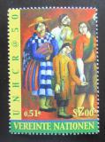 Poštovní známka OSN Vídeň 2000 Uprchlíci Mi# 325