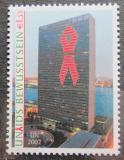 Poštovní známka OSN Vídeň 2002 Budova OSN v New Yorku Mi# 379