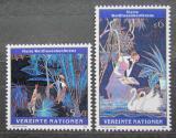 Poštovní známky OSN Vídeň 1995 Umění, Ting Shao Kuang Mi# 188-89