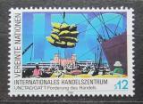 Poštovní známka OSN Vídeň 1990 Mezinárodní obchodní centrum Mi# 98