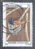 Poštovní známka Botswana 1978 Lejskovec nádherný Mi# 203