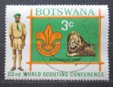 Poštovní známka Botswana 1969 Skautská konference Mi# 51